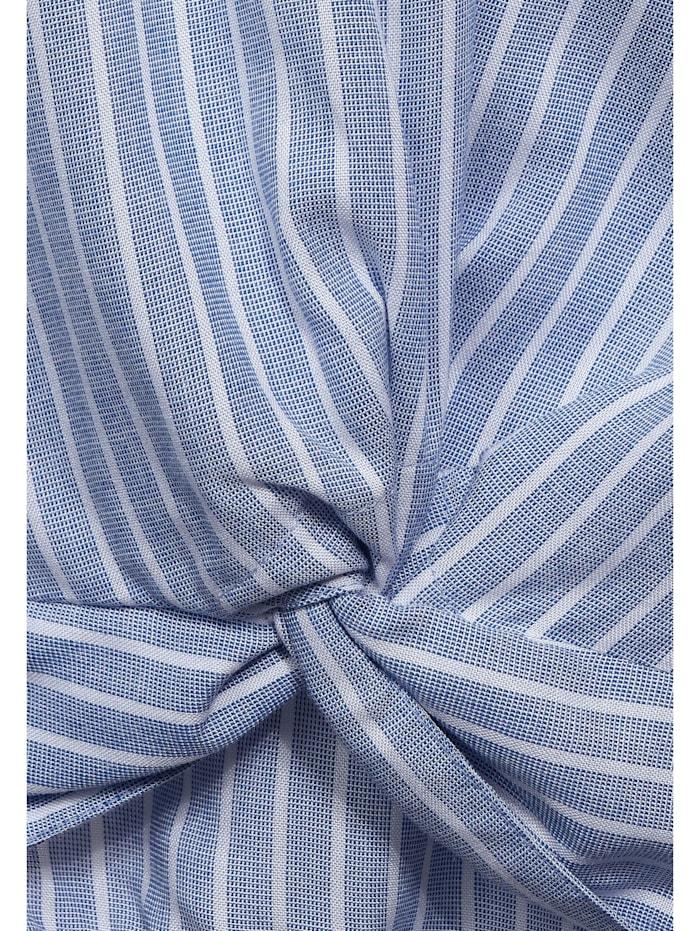 Hemdbluse mit Knoten-Detail