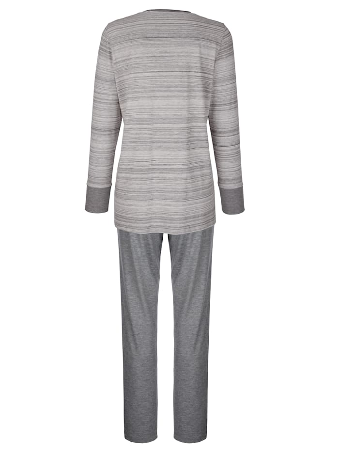Schlafanzug mit edlem Glitzersteinchenmotiv