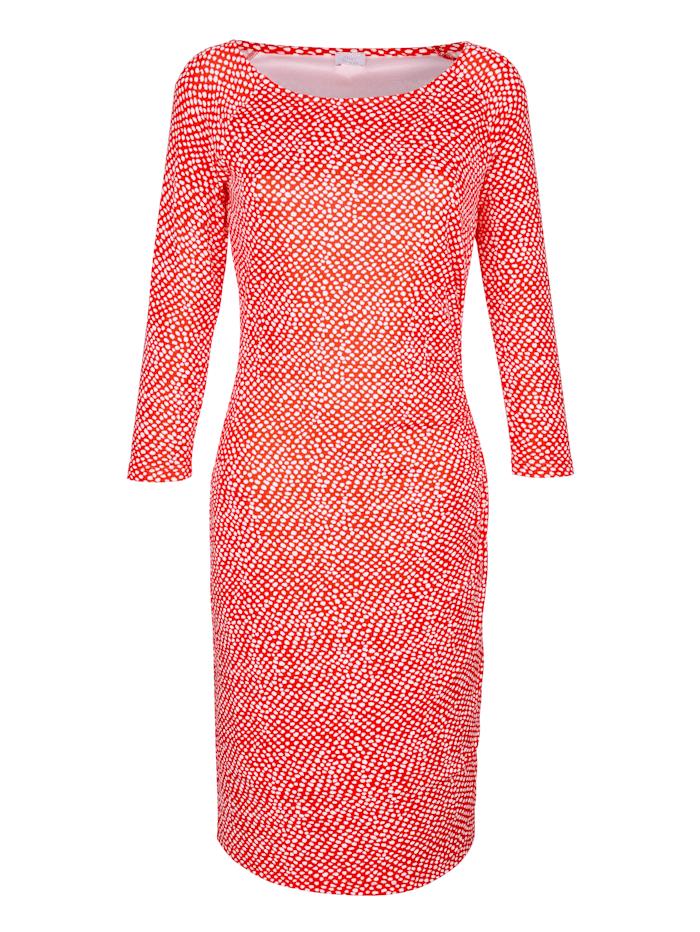 Kleid im Minimal Punkte Dessin