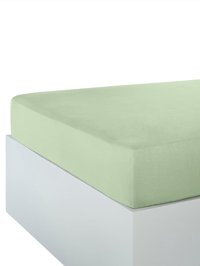 Webschatz Dra-på-laken, lindegrønn