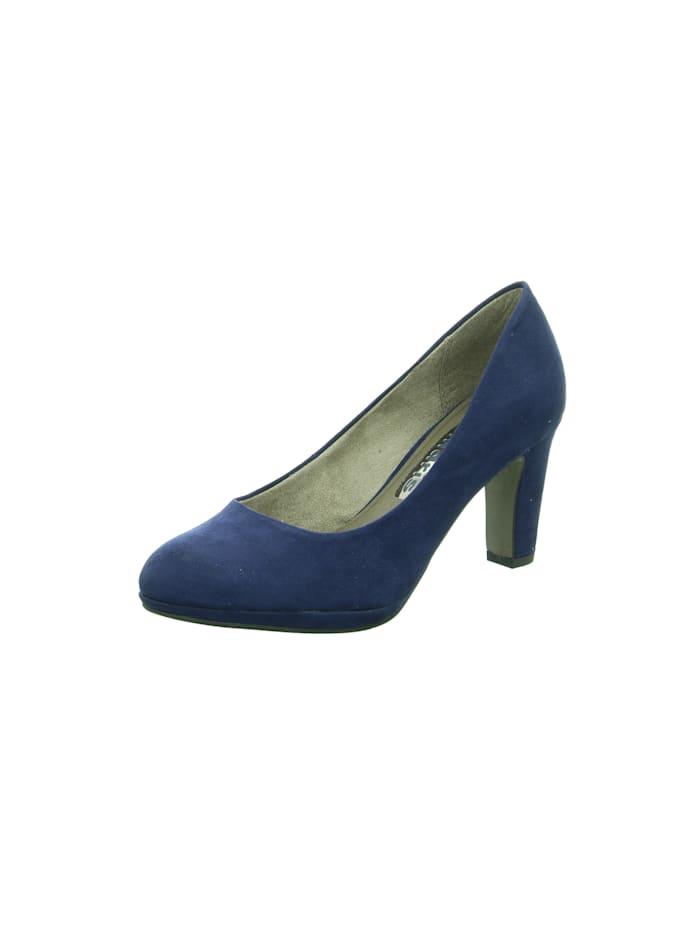 Tamaris Pumps, blau