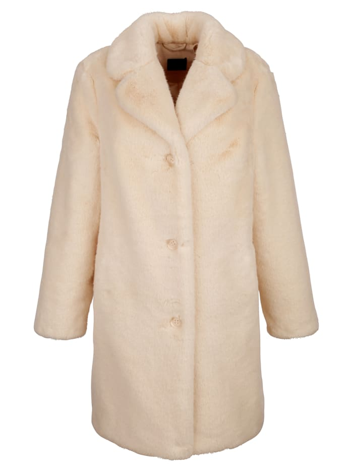 Jacke aus hochwertigem Webfell