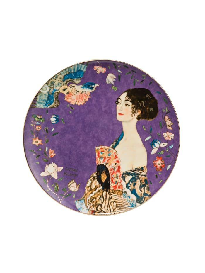 "Goebel Goebel Wandteller Gustav Klimt - ""Dame mit Fächer"", Klimt - Dame mit Fächer"
