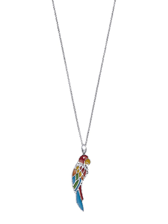 AMY VERMONT Papagei-Anhänger mit Kette -Papagei-, Multicolor