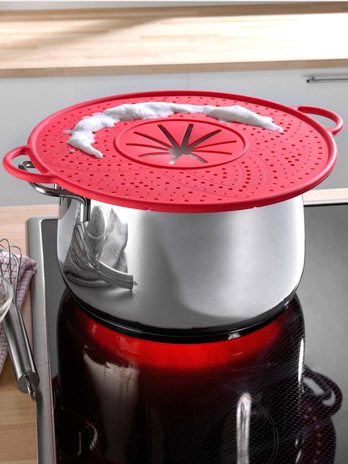 HELU 7-1 multi kjøkkenredskap, Rød