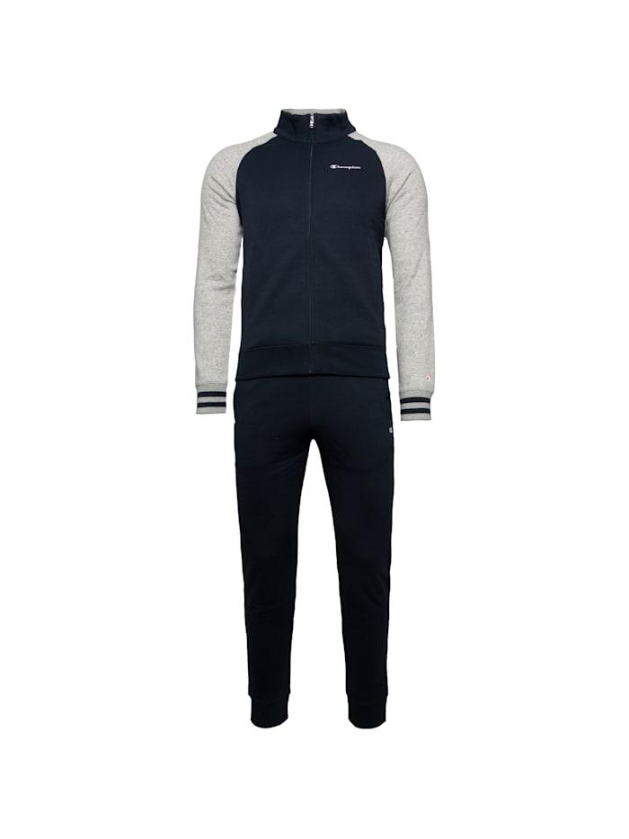 Champion Trainingsanzug Full Zip Suit, blau