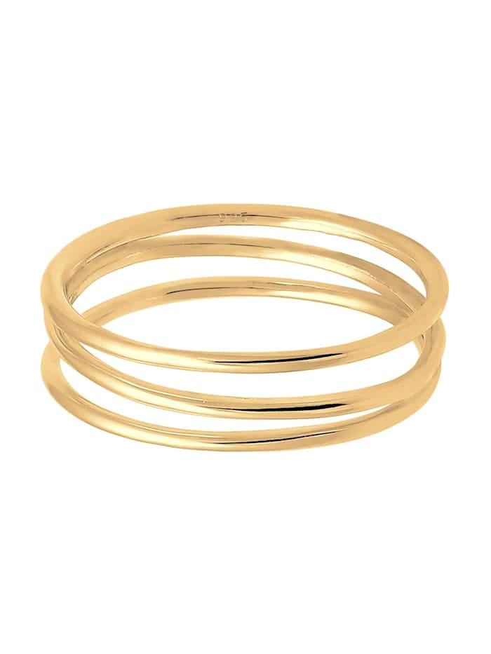 Ring Wickelring Filigran Blogger Trend 925 Silber