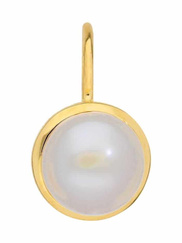 1001 Diamonds 1001 Diamonds Damen Goldschmuck 333 Gold Boutons mit Süßwasser Zuchtperle Ø 7,7 mm, gold