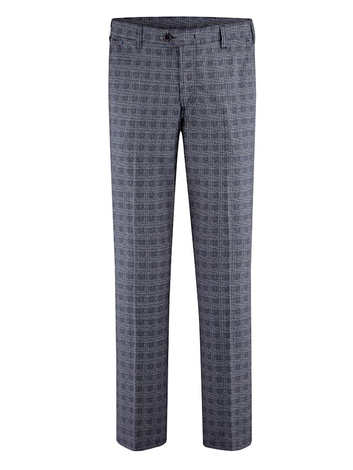 BABISTA Kalhoty s hodnotných kroucených vláken, Modrá