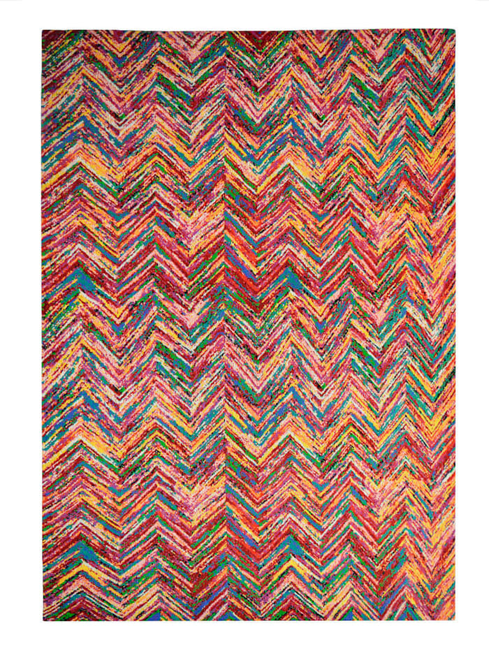 Kayoom Handwebteppich 'Thomas', Multicolor