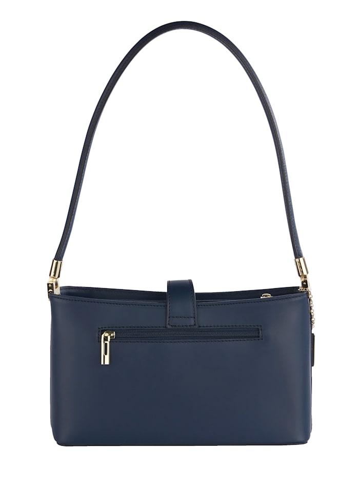 Handbag made from supple leather