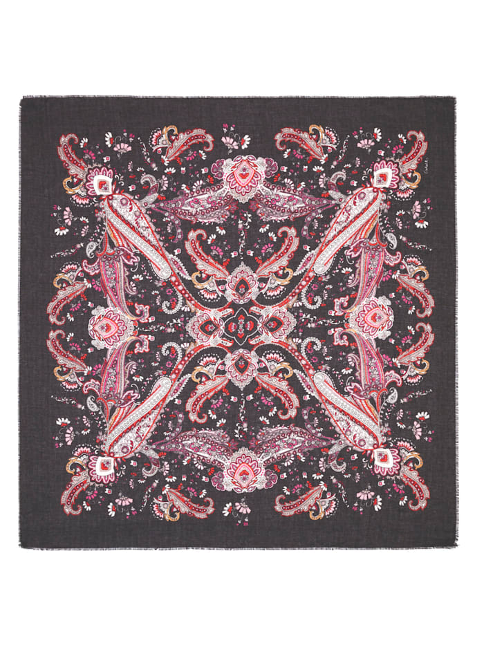 Paisley-Tuch aus recyceltem Polyester