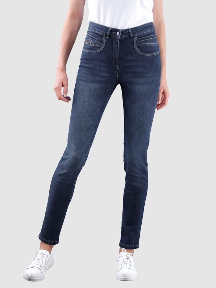 Dress In Jeans Sabine Slim, Marineblau