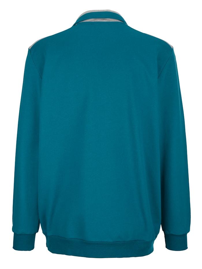 Sweatshirt Kontrastdetails