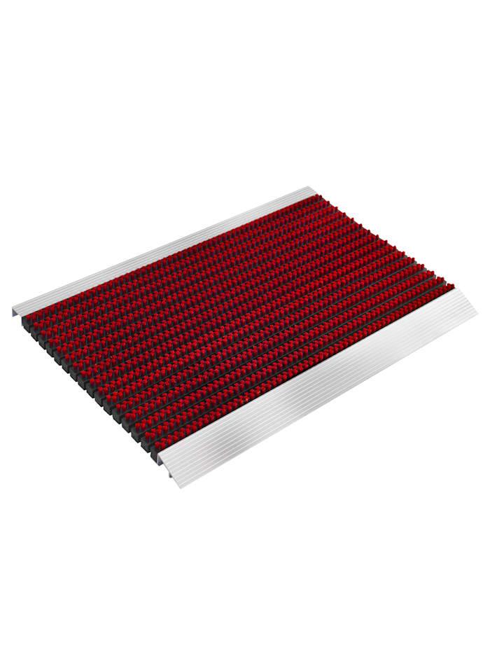 Floordirekt Hochleistungsmatte 'Profi Brush', Rot