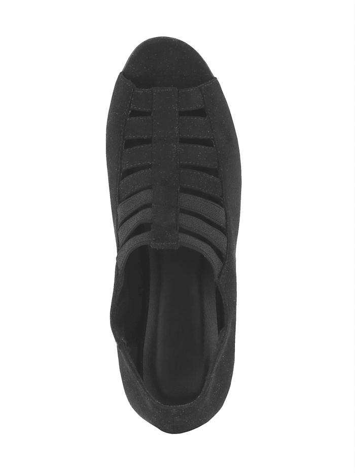 Avokärkiset kengät