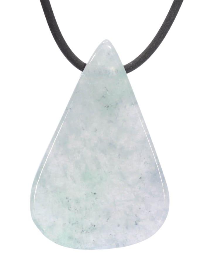 1001 Diamonds Jade Anhänger, Blaugrüntöne