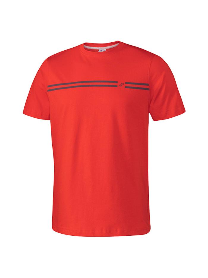 JOY sportswear T-Shirt JASPER, red pepper
