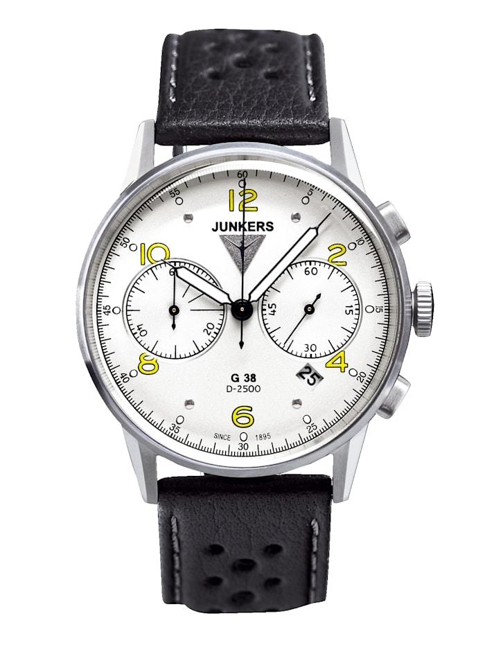 Junkers Herrenuhr-Chronograph, Schwarz