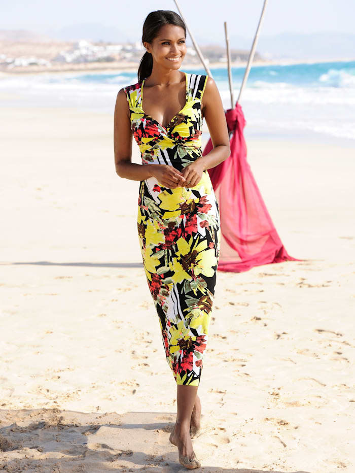 Strandkleid mit Wickeloptik