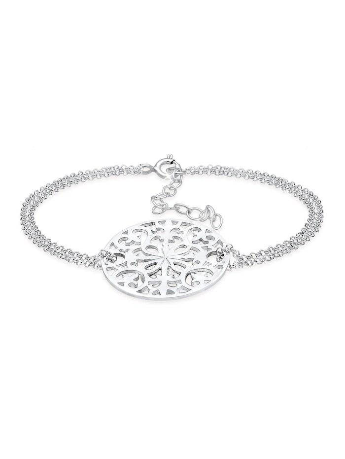 Elli Premium Armband 925 Sterling Silber Ornament, Silber