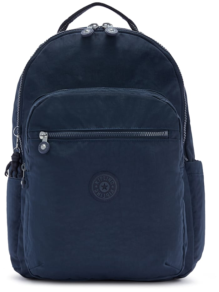 Kipling Basic Seoul Rucksack 44 cm Laptopfach, blue bleu 2
