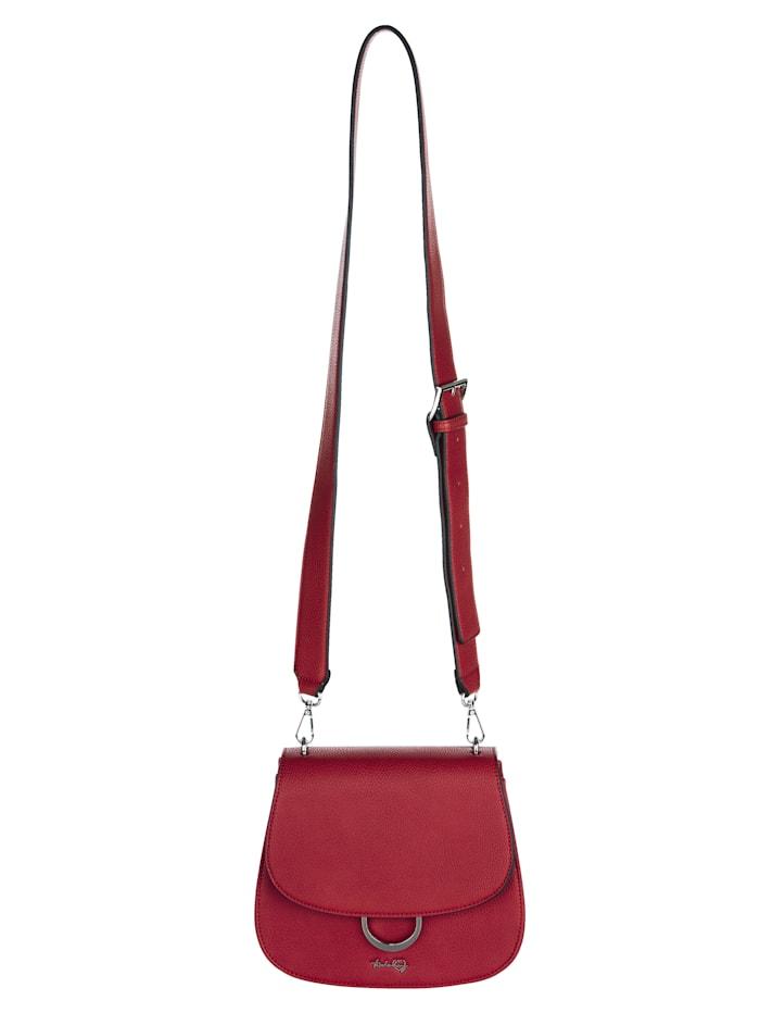 Taschenherz Schoudertas van hoogwaardig softmateriaal, rood