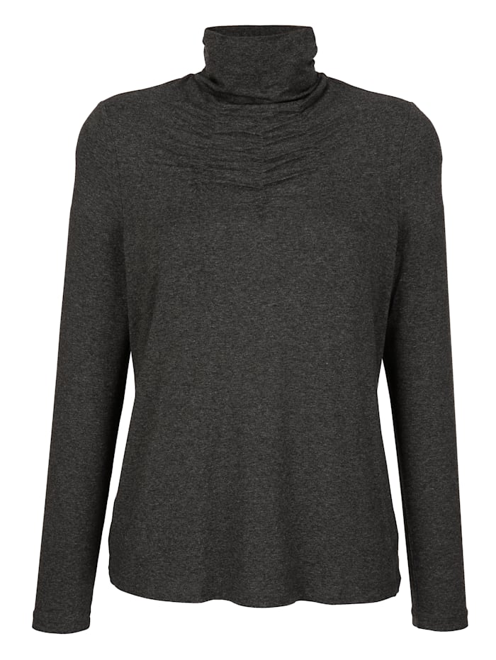 Top with ruche detail