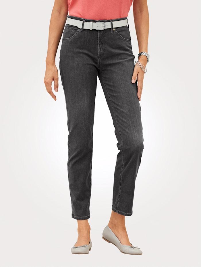 Toni Jeans mit dezenter Waschung, Grau