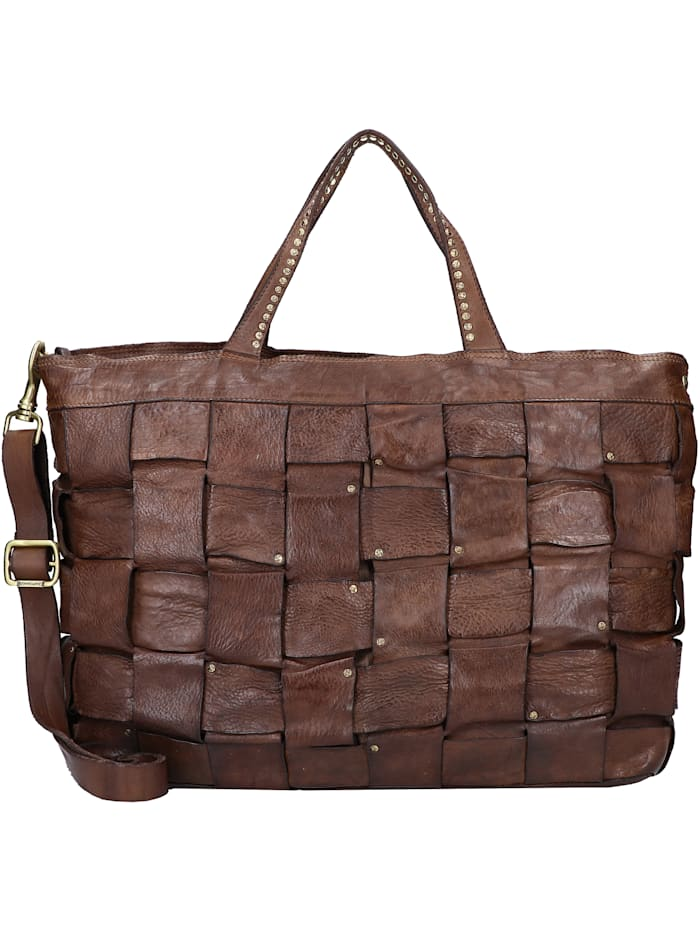 Campomaggi Shopper Tasche 40 cm, moro