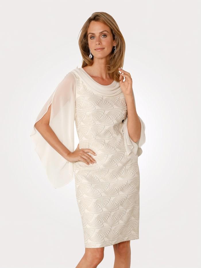 Kleid mit Jacquarddessin