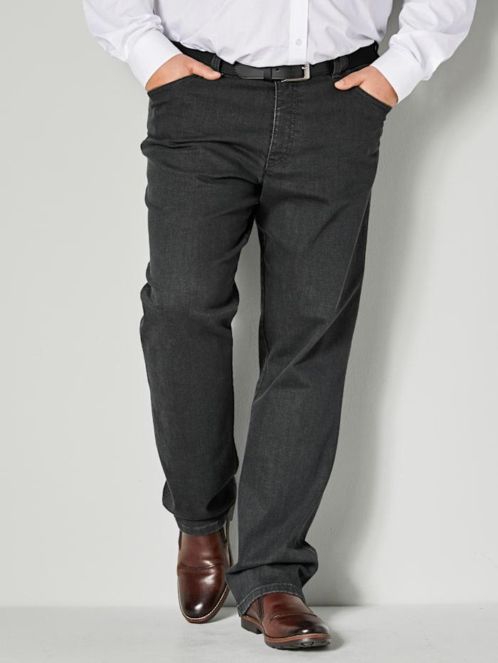 Men Plus Jeans in speciaal model, Dark grey