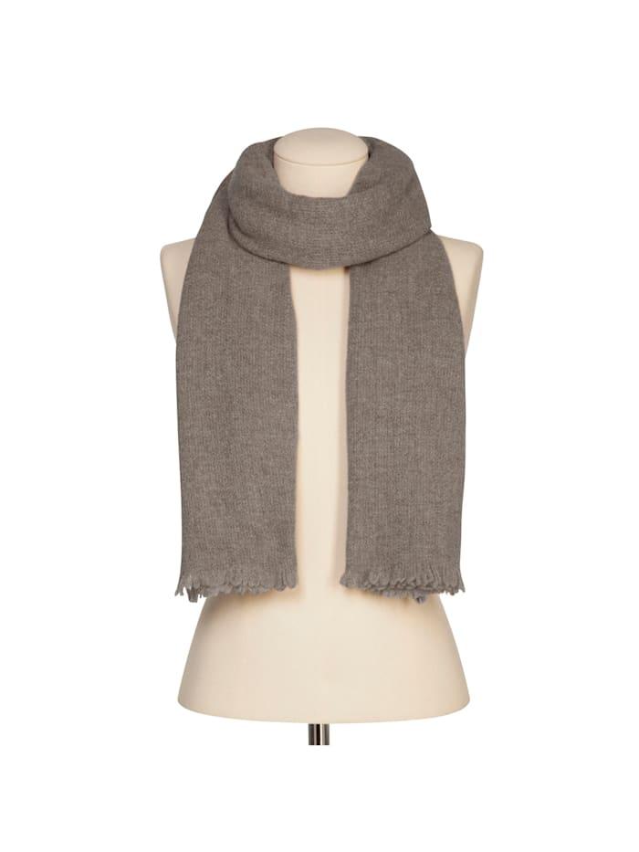 XL-Strickschal aus warmer Wolle