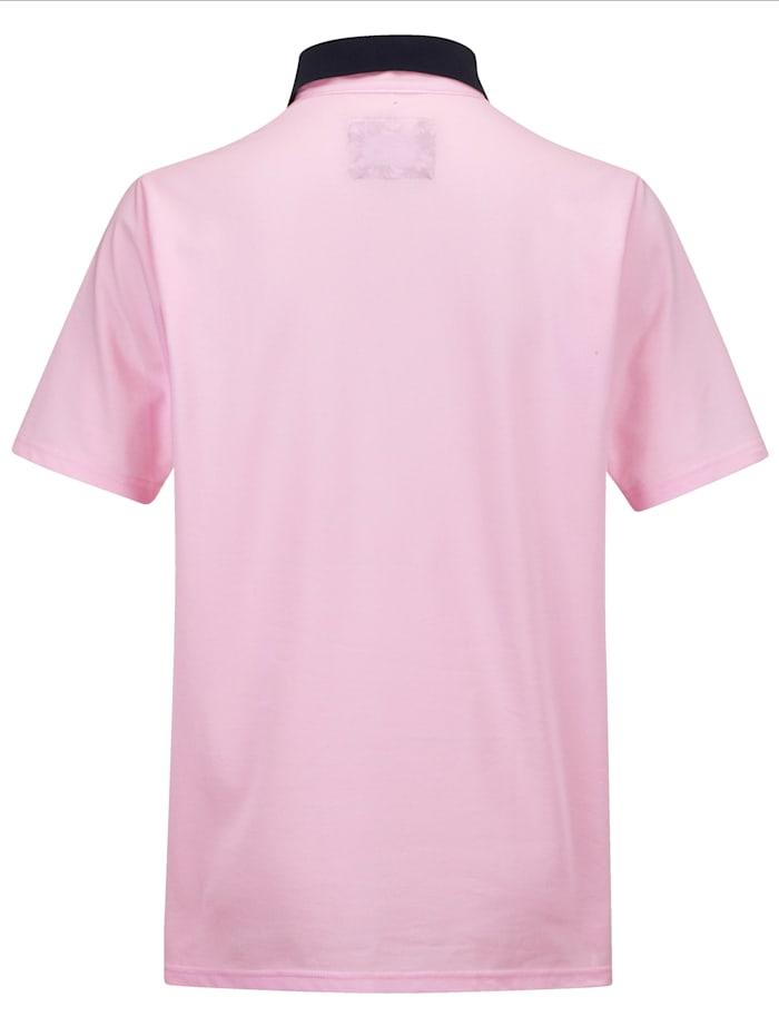 Poloshirt in zweifarbiger Optik