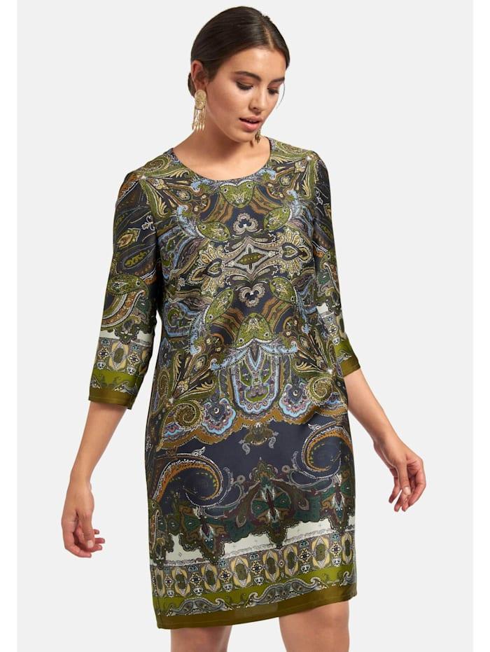 Abendkleid mit Allover-Muster