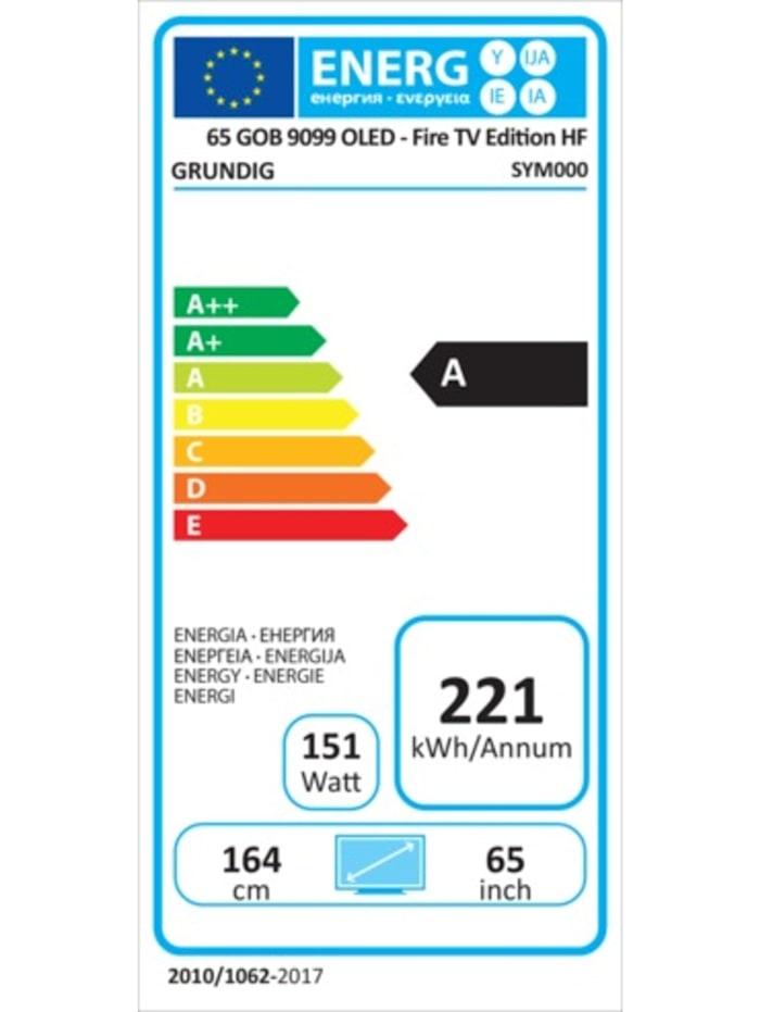 OLED-Fernseher 65 GOB 9099 FireTV
