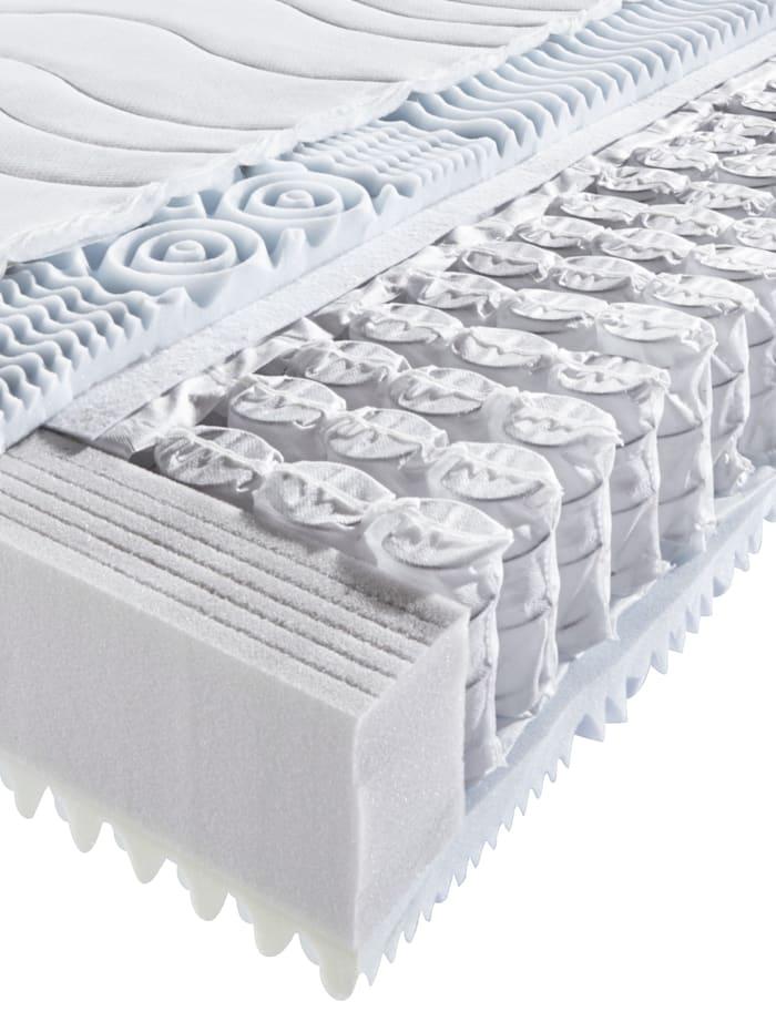 Tonnentaschenfederkern-Matratze 7-Zonen 'Komfort Ausführung'