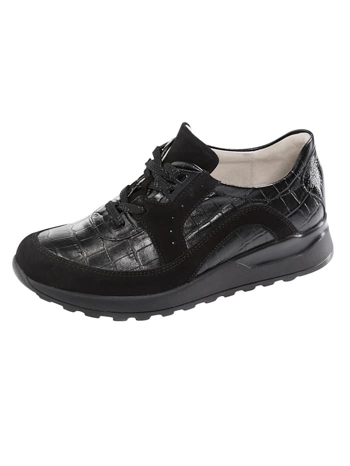 Waldläufer Sneakers, Noir