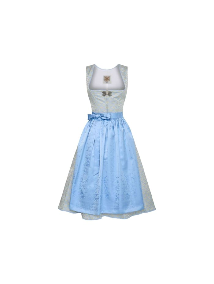 Apple of my Eye Midi Dirndl, Hellblau