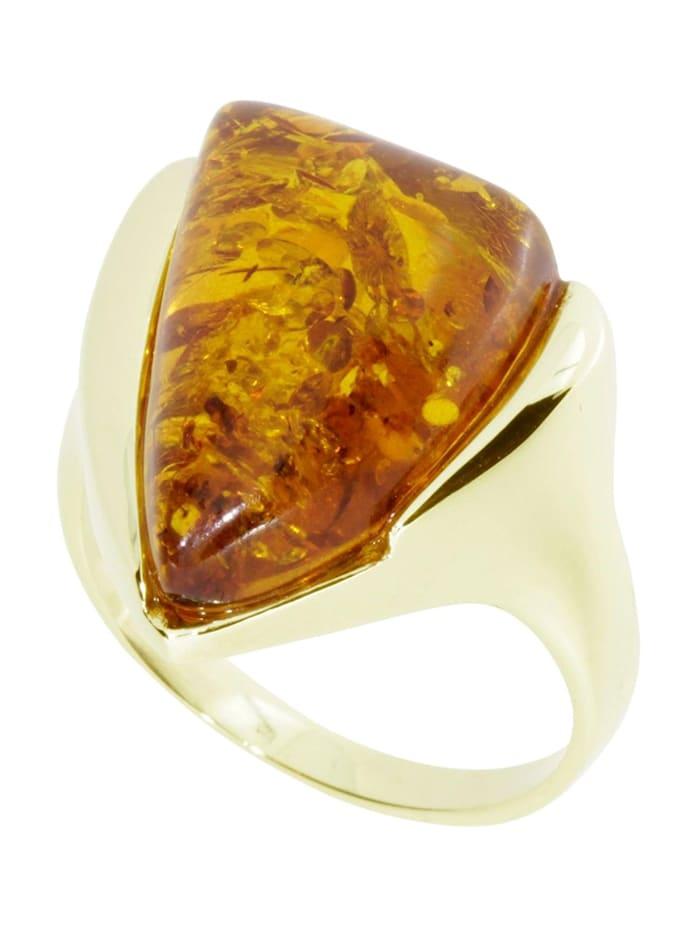 OSTSEE-SCHMUCK Ring - Anouk - Gold 333/000 - Bernstein, gold