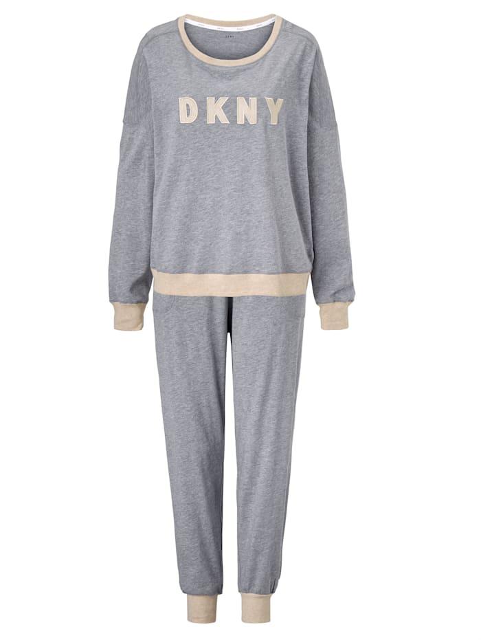 DKNY Pyjama, Grau