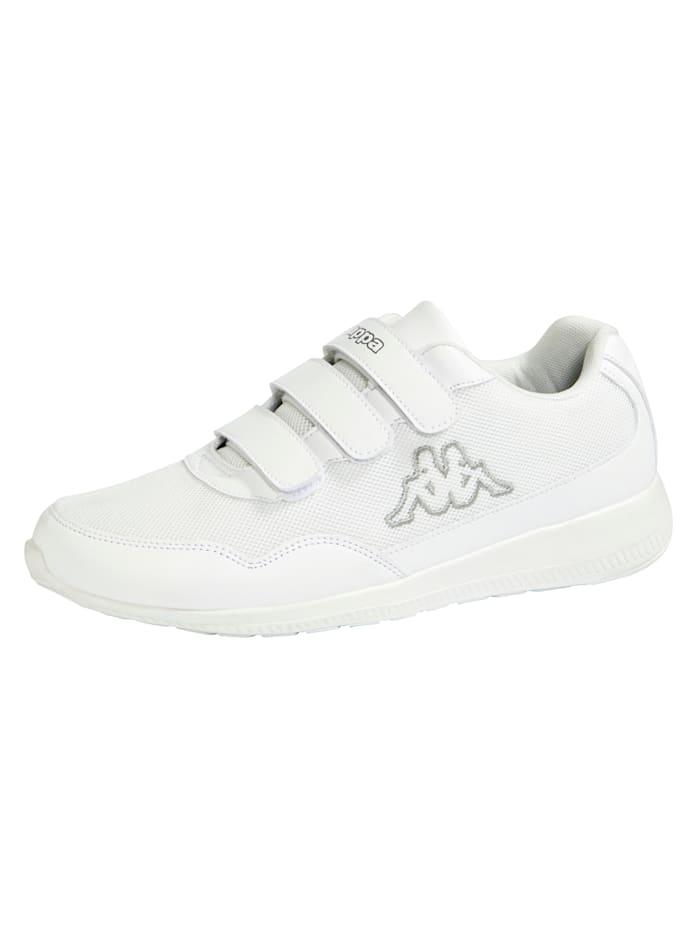 Kappa Sneaker met klittenband, Wit