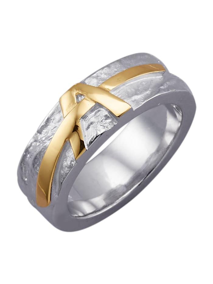 Diemer Silber Damenring in Silber 925, Silberfarben