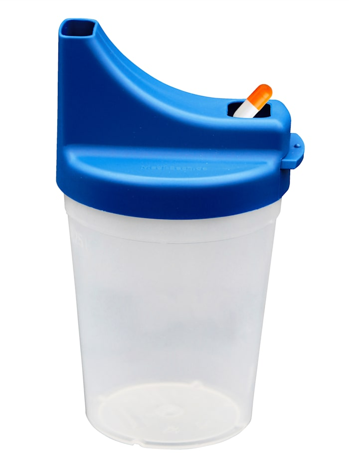 Hydas Pillenbeker voor extra gemak, blauw