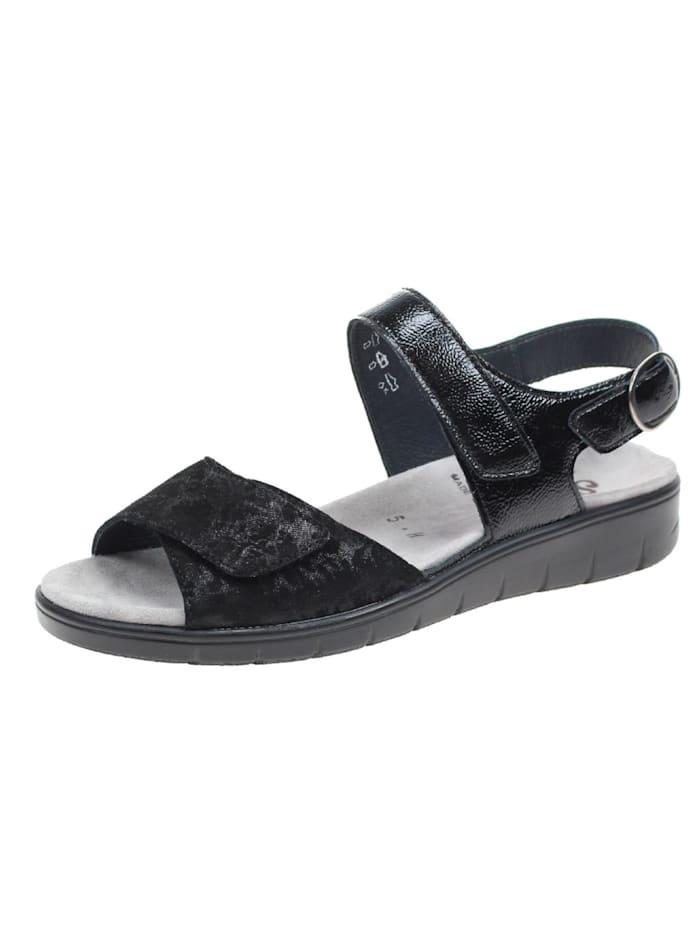 Semler Sandale Sandale, schwarz