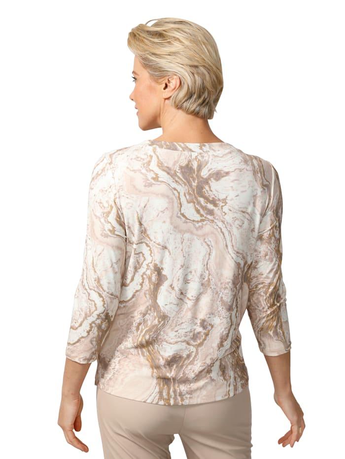 Shirt effektvollem Foliendruck