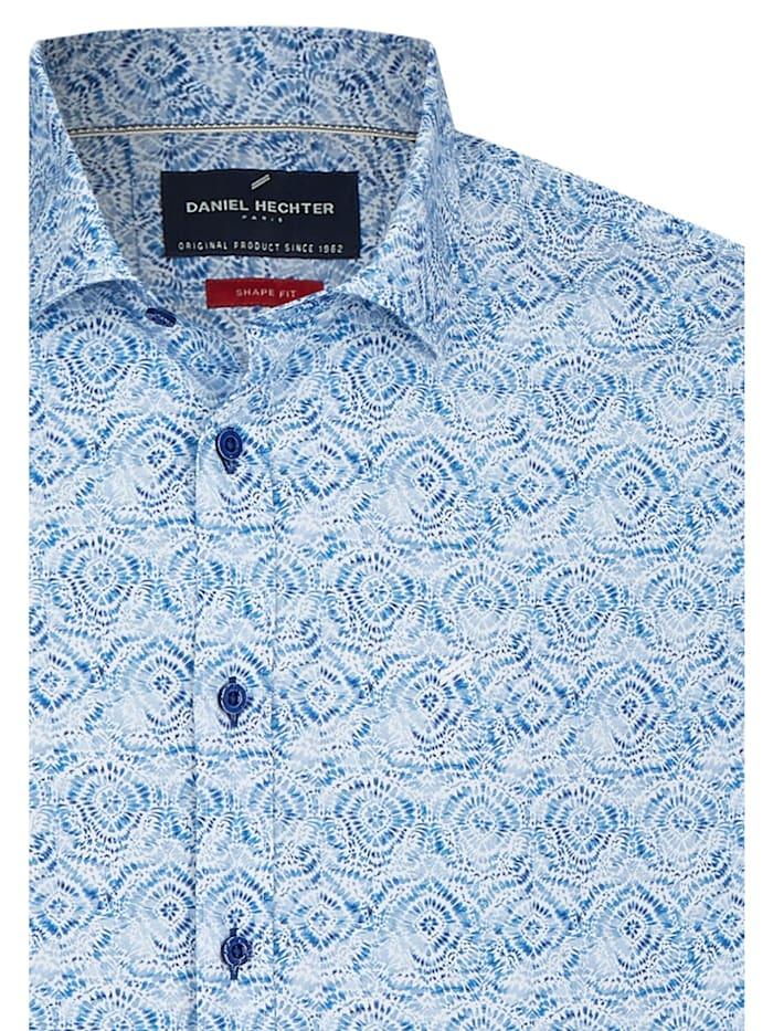Modisches Freizeithemd mit Batik-Muster