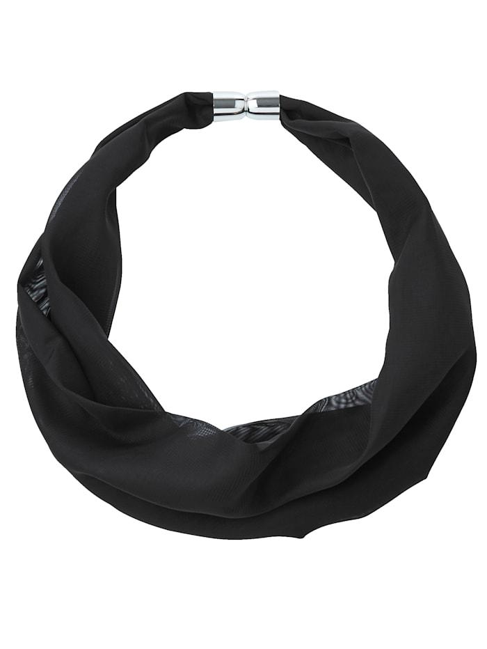 Sjaal met magneetsluiting