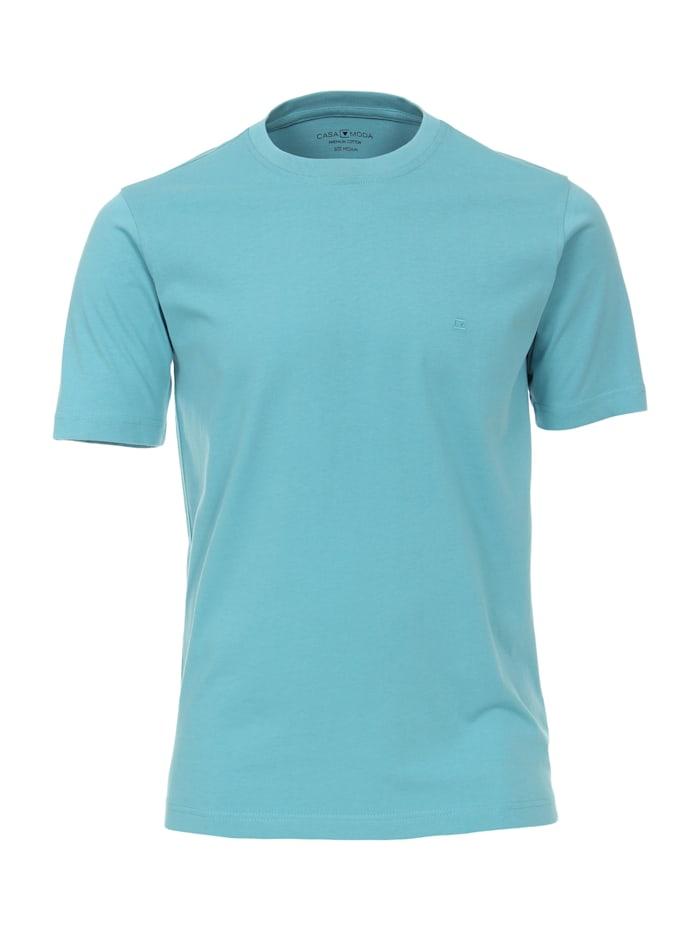 CASAMODA T-Shirt uni, Helltürkis