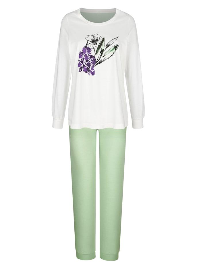 Pyjama's per 2 stuks met grote bloemenprint